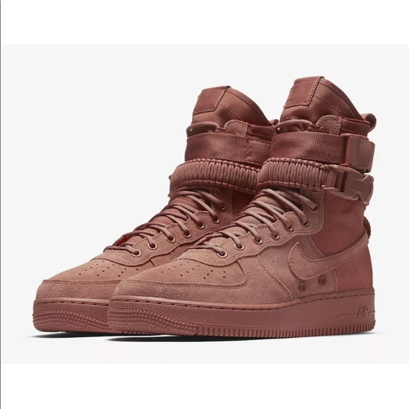 sneakers for cheap 8a86a 49870 Nike SF AF1 Dusty Peach Special Air-force Straps. NWT. Nike.  90  180. Size.  10. 10.5. 11